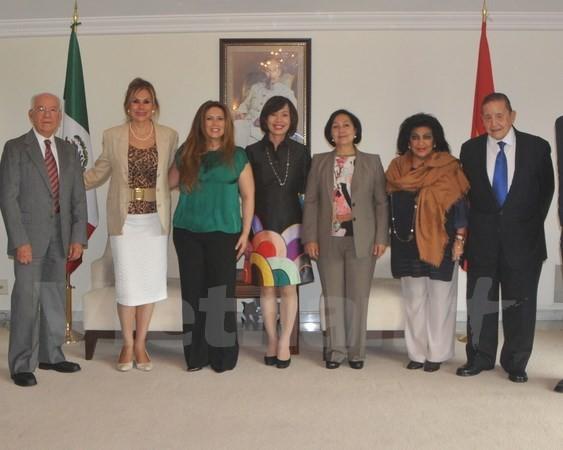 Việt Nam và Mexico tăng cường quan hệ hợp tác hữu nghị  - ảnh 1