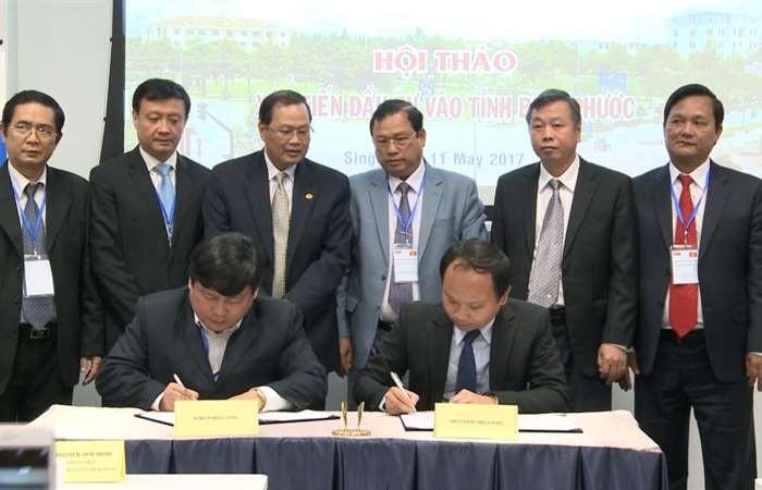 Tỉnh Bình Phước kêu gọi đầu tư Singapore vào 63 dự án ưu tiên  - ảnh 1