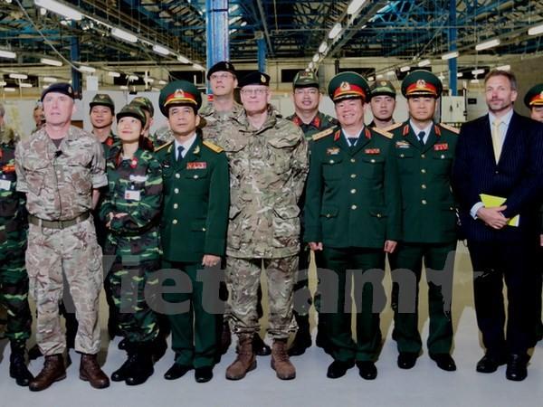 Việt Nam- Vương quốc Anh đẩy mạnh hợp tác trên lĩnh vực gìn giữ hòa bình  - ảnh 1