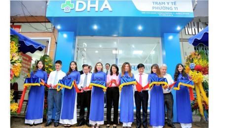 Khai trương Trạm Y tế xã hội hóa đầu tiên tại Việt Nam - ảnh 1