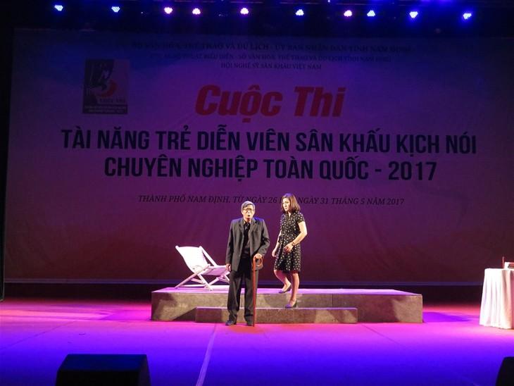 Khai mạc Cuộc thi tài năng diễn viên sân khấu kịch nói chuyên nghiệp toàn quốc  - ảnh 1