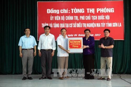 Phó Chủ tịch Quốc hội Tòng Thị Phóng làm việc tại tỉnh Sơn La - ảnh 1