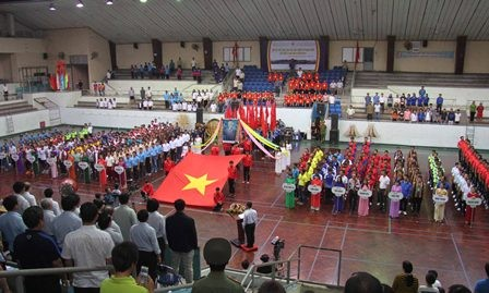 Bế mạc Hội thi thể thao các dân tộc thiểu số toàn quốc lần thứ X, khu vực II - ảnh 1