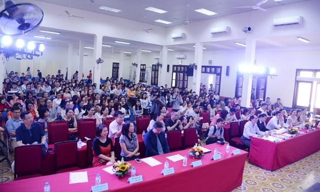Vòng loại cuộc thi Nhịp cầu Hán ngữ lần thứ 16 khu vực phía Bắc - ảnh 10