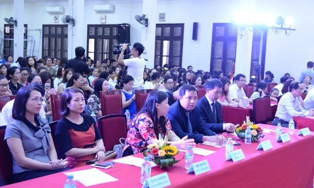 Vòng loại cuộc thi Nhịp cầu Hán ngữ lần thứ 16 khu vực phía Bắc - ảnh 2
