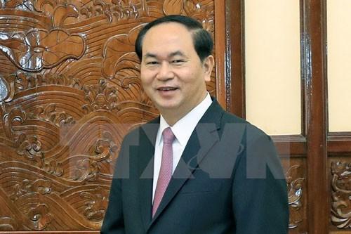 Chủ tịch nước Trần Đại Quang trả lời phỏng vấn báo chí Nga và Belarus - ảnh 1