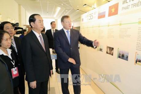 Chủ tịch nước Trần Đại Quang thăm thành phố Saint Petersburg, Liên bang Nga - ảnh 4