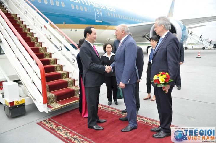 Chủ tịch nước Trần Đại Quang thăm thành phố Saint Petersburg, Liên bang Nga - ảnh 1