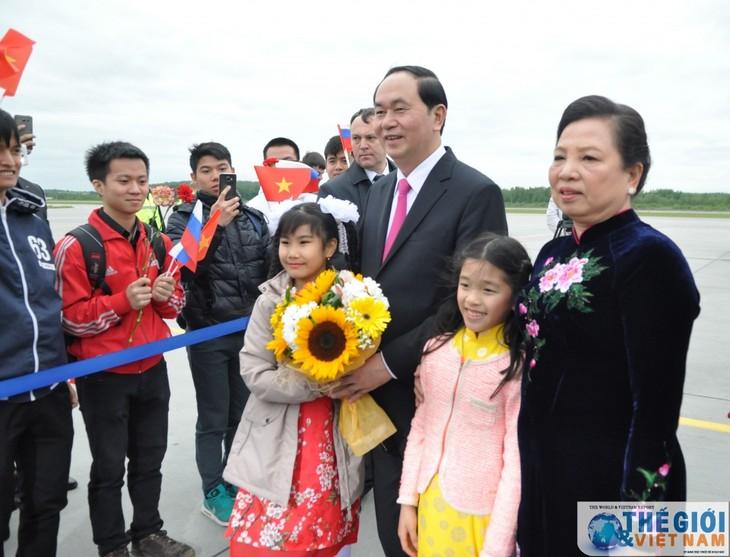 Chủ tịch nước Trần Đại Quang thăm thành phố Saint Petersburg, Liên bang Nga - ảnh 2