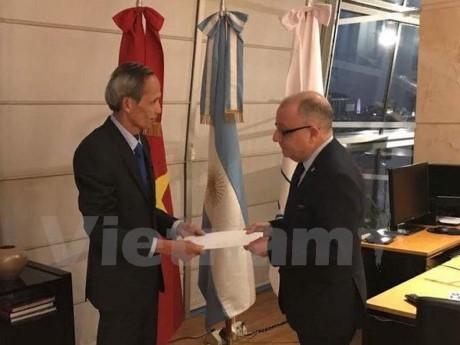 Argentina đánh giá cao thành tựu vượt bậc của Việt Nam - ảnh 1