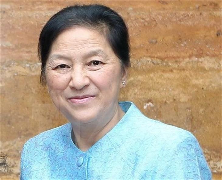 Chủ tịch Quốc hội Lào thăm Việt Nam - ảnh 1