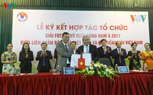 VOV và VFF ký kết hợp tác tổ chức giải Futsal vô địch Đông Nam Á - ảnh 1