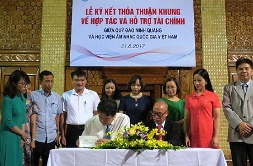 CHLB Đức hỗ trợ Việt Nam đào tạo tài năng âm nhạc - ảnh 1