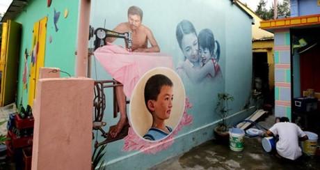 Làng  nghệ thuật cộng đồng ở Tam Thanh, Tam Kỳ, Quảng Nam - ảnh 1