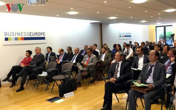 Việt Nam - EU cùng phối hợp để Hiệp định tự do thương mại sớm về đích - ảnh 2