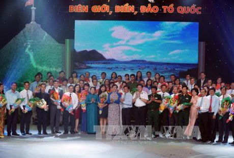 """Chương trình """"Hướng về biên giới, biển, đảo Tổ quốc"""" tại Thành phố Hồ Chí Minh - ảnh 1"""