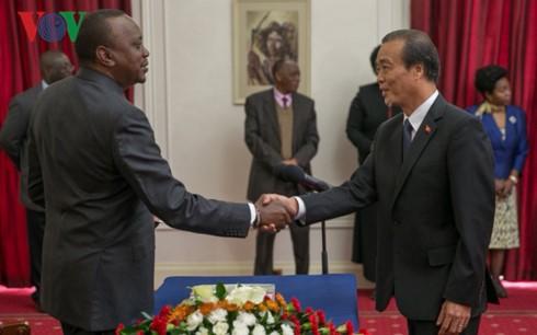Kenya mong muốn tăng cường hợp tác với Việt Nam  - ảnh 1