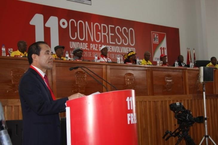 Đoàn Đại biểu Đảng Cộng sản Việt Nam tham dự Đại hội XII Đảng Mặt trận Giải phóng Mozambique - ảnh 1