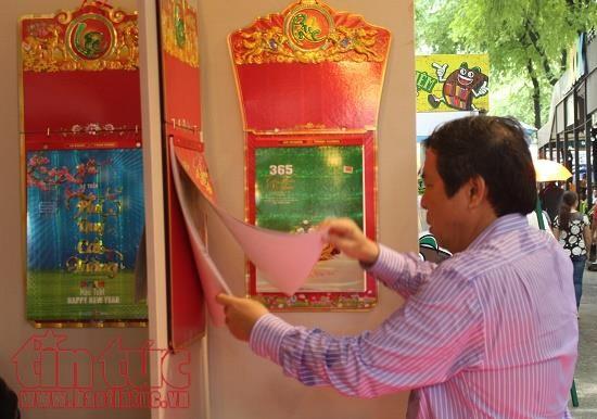 Triển lãm Lịch Xuân 2018: Đậm đà bản sắc Việt  - ảnh 1