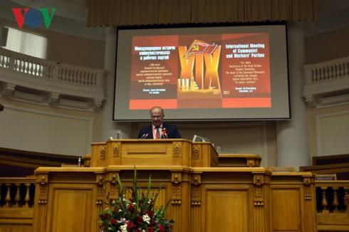 Việt Nam tham dự Cuộc gặp quốc tế các đảng Cộng sản và công nhân lần thứ 19 tại Nga  - ảnh 2