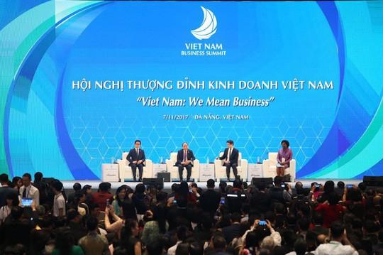Khai mạc Hội nghị thượng đỉnh kinh doanh Việt Nam - ảnh 1