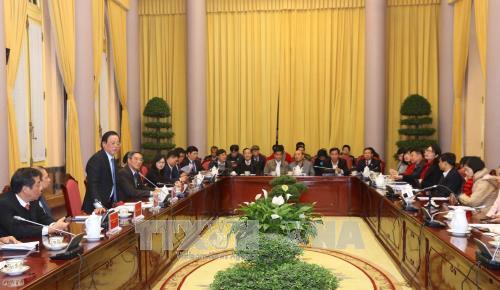 Văn phòng Chủ tịch nước họp báo công bố một số Luật được Quốc hội khóa XIV thông qua - ảnh 1