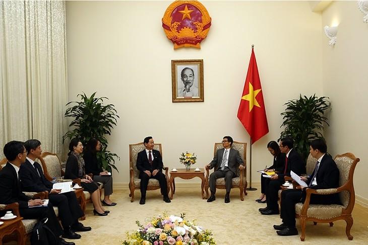 Phó Thủ tướng Vũ Đức Đam tiếp Phó Thủ tướng Hàn Quốc  - ảnh 1