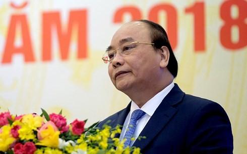 Thủ tướng Nguyễn Xuân Phúc chủ trì họp Chính phủ thường kỳ tháng 12/2017 - ảnh 1