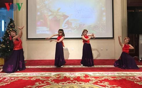 Tết Dương lịch 2018 đầm ấm tại Đại sứ quán Việt Nam tại Trung Quốc - ảnh 1