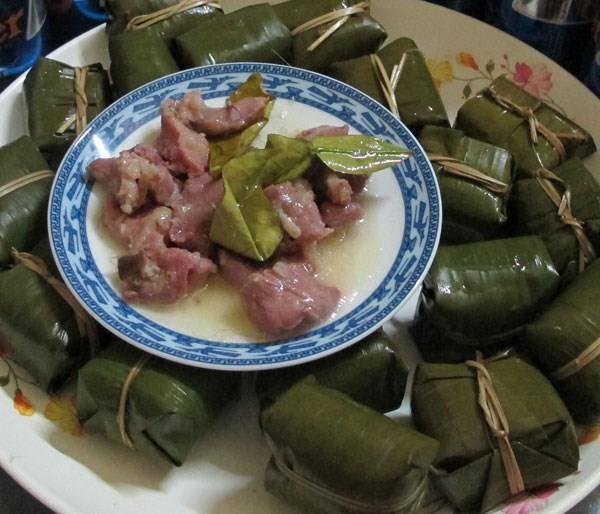 Món nem nướng Nông Sơn ngày Tết - ảnh 1