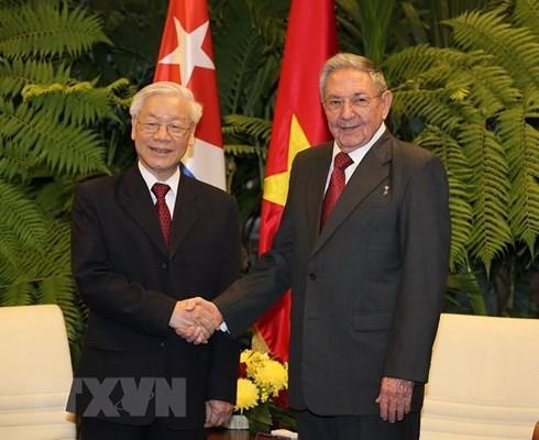 Toàn văn Tuyên bố chung Việt Nam-Cuba - ảnh 1