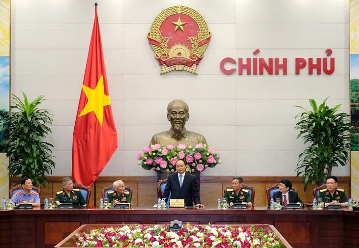 Thủ tướng Nguyễn Xuân Phúc gặp mặt Đoàn Cựu chiến binh mặt trận Tây Nguyên - ảnh 1