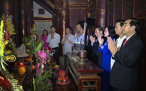 Lễ kỷ niệm 1050 năm nhà nước Đại Cồ Việt và lễ hội Hoa Lư 2018 diễn ra tối 24/04 - ảnh 1