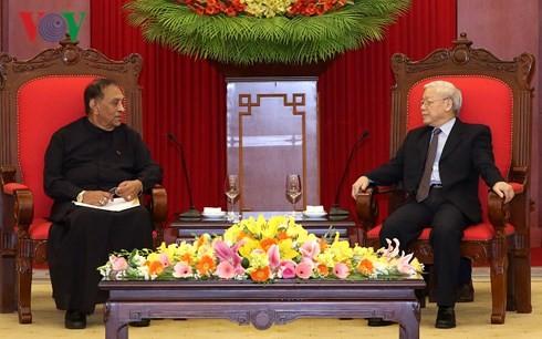 Tổng Bí thư Nguyễn Phú Trọng tiếp Chủ tịch Quốc hội Sri Lanka - ảnh 2