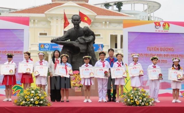 Thành phố Hồ Chí Minh: Hơn 2.000 đội viên, thiếu nhi tham gia Ngày hội Đội viên  - ảnh 1