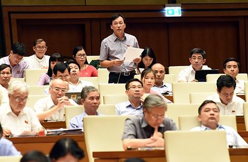 Quốc hội thảo luận về tình hình kinh tế xã hội - ảnh 1