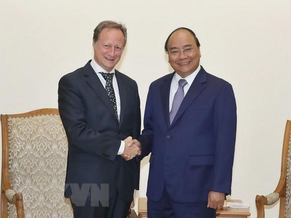 Thủ tướng Nguyễn Xuân Phúc tiếp Đại sứ, Trưởng phái đoàn EU tại Việt Nam  - ảnh 1