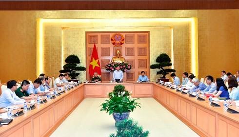 Phó Thủ tướng Chính phủ Phạm Bình Minh chủ trì cuộc họp Ban Chỉ đạo liên ngành về hội nhập quốc tế - ảnh 1