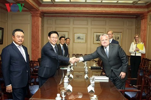 Phó Thủ tướng Vương Đình Huệ: Hoa Kỳ ủng hộ Việt Nam độc lập, thịnh vượng - ảnh 1