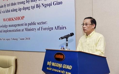 Hướng tới việc triển khai, quản lý tri thức trong bộ máy nhà nước tại Việt Nam - ảnh 1