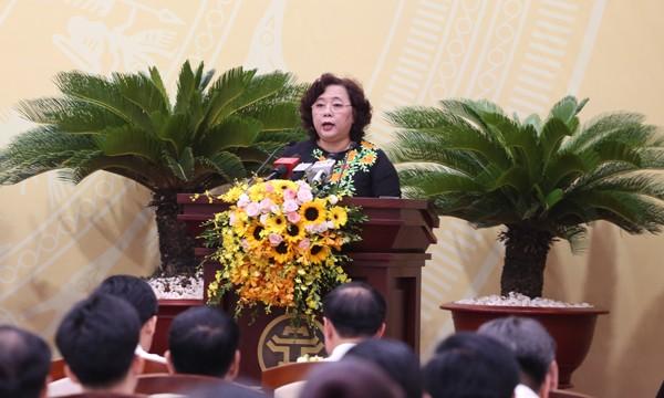"""Đại biểu HĐND thành phố Hà Nội chất vấn nhiều vấn đề """"nóng"""" liên quan đến phát triển kinh tế, xã hội - ảnh 1"""