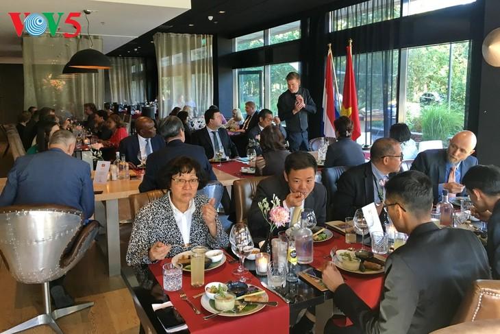 Ngày Ẩm thực Việt Nam tại La Hay, Hà Lan - ảnh 1