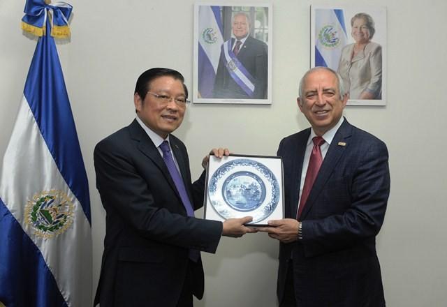 Đoàn đại biểu Đảng Cộng sản Việt Nam thăm và làm việc tại El Salvador   - ảnh 1