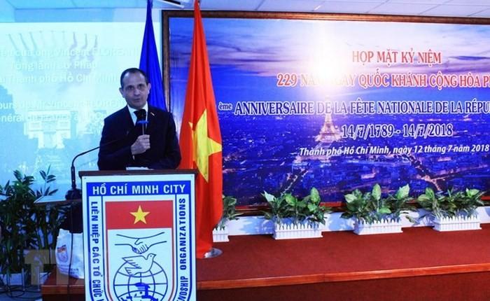 Lễ kỷ niệm Quốc khánh Cộng hòa Pháp tại Thành phố Hồ Chí Minh  - ảnh 1