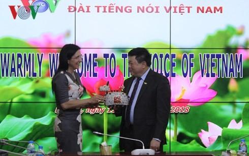 Tổng Giám đốc VOV Nguyễn Thế Kỷ tiếp Đoàn cán bộ cấp cao Tập đoàn DELL - ảnh 4