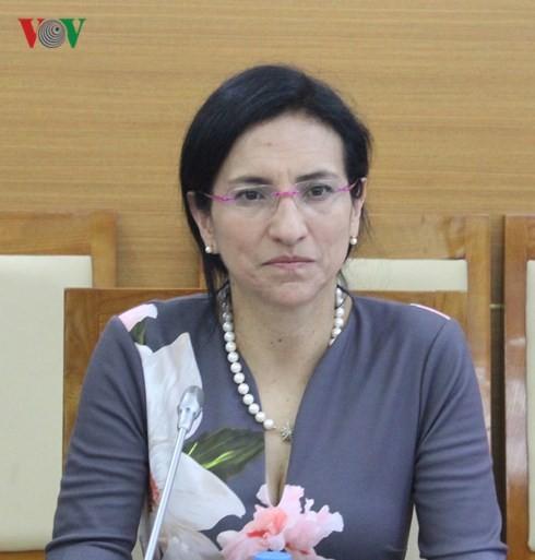 Tổng Giám đốc VOV Nguyễn Thế Kỷ tiếp Đoàn cán bộ cấp cao Tập đoàn DELL - ảnh 3