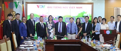 Tổng Giám đốc VOV Nguyễn Thế Kỷ tiếp Đoàn cán bộ cấp cao Tập đoàn DELL - ảnh 2