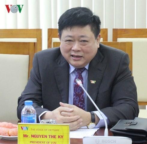 Tổng Giám đốc VOV Nguyễn Thế Kỷ tiếp Đoàn cán bộ cấp cao Tập đoàn DELL - ảnh 1
