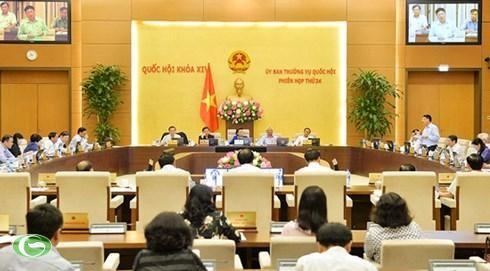 Ủy ban Thường vụ Quốc hội thảo luận dự án Luật Phòng, chống tham nhũng (sửa đổi) - ảnh 1