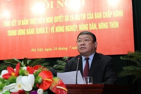 Nghị quyết 26 về nông nghiệp, nông thôn, nông dân là chủ trương đúng đắn, hợp lòng dân - ảnh 1